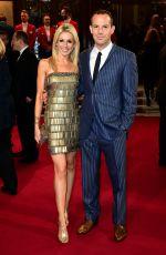 LARA LEWINGTON at ITV 60th Anniversary Gala in London 11/19/2015