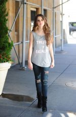 LAURA MARANO Out and About in New York 11/04/2015