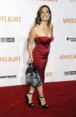LAURA MICHELLE KELLY at Spotlight Premiere in New York 10/27/2015