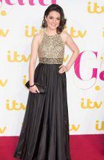 LAURA TOBIN at ITV 60th Anniversary Gala in London 11/19/2015