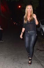LAUREN POPE Night Out in New York 11/09/2015