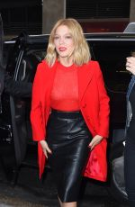 LEA SEYDOUX Arrives at Huffpost Live Studio in New York 11/04/2015
