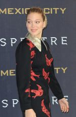 LEA SEYDOUX at Spectre Photocall in Mexico 11/01/2015
