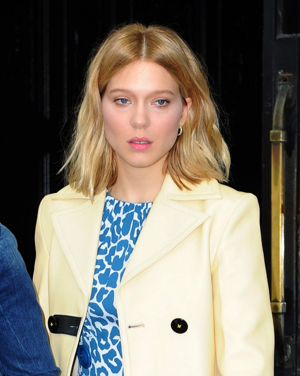LEA SEYDOUX Leaves Her Hotel in New York 11/05/2015