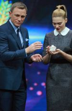 LEA SEYDOUX on the Set of Day Day Up Show in Beijing 11/12/2015