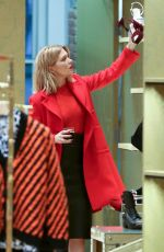 LEA SEYDOUX Out Shopping in New York 11/05/2015
