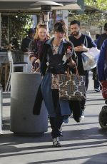 LENA HEADEY Leaves Pottery Barn Kids at Grove in West Hollywood 11/25/2015