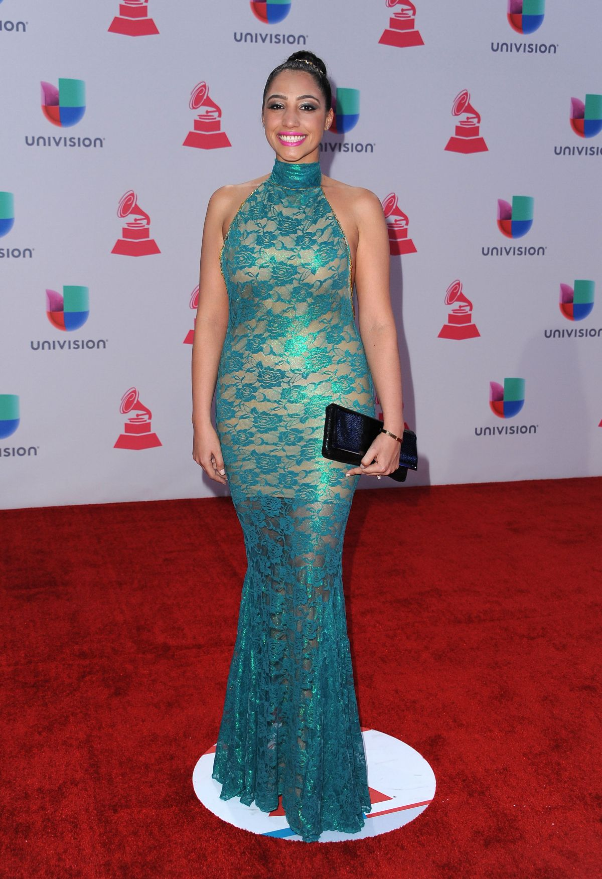 LESLIE CARTAYA at 2015 Latin Grammy Awards in Las Vegas 11/18/2015