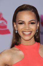 LESLIE GRACE at 2015 Latin Grammy Awards in Las Vegas 11/18/2015