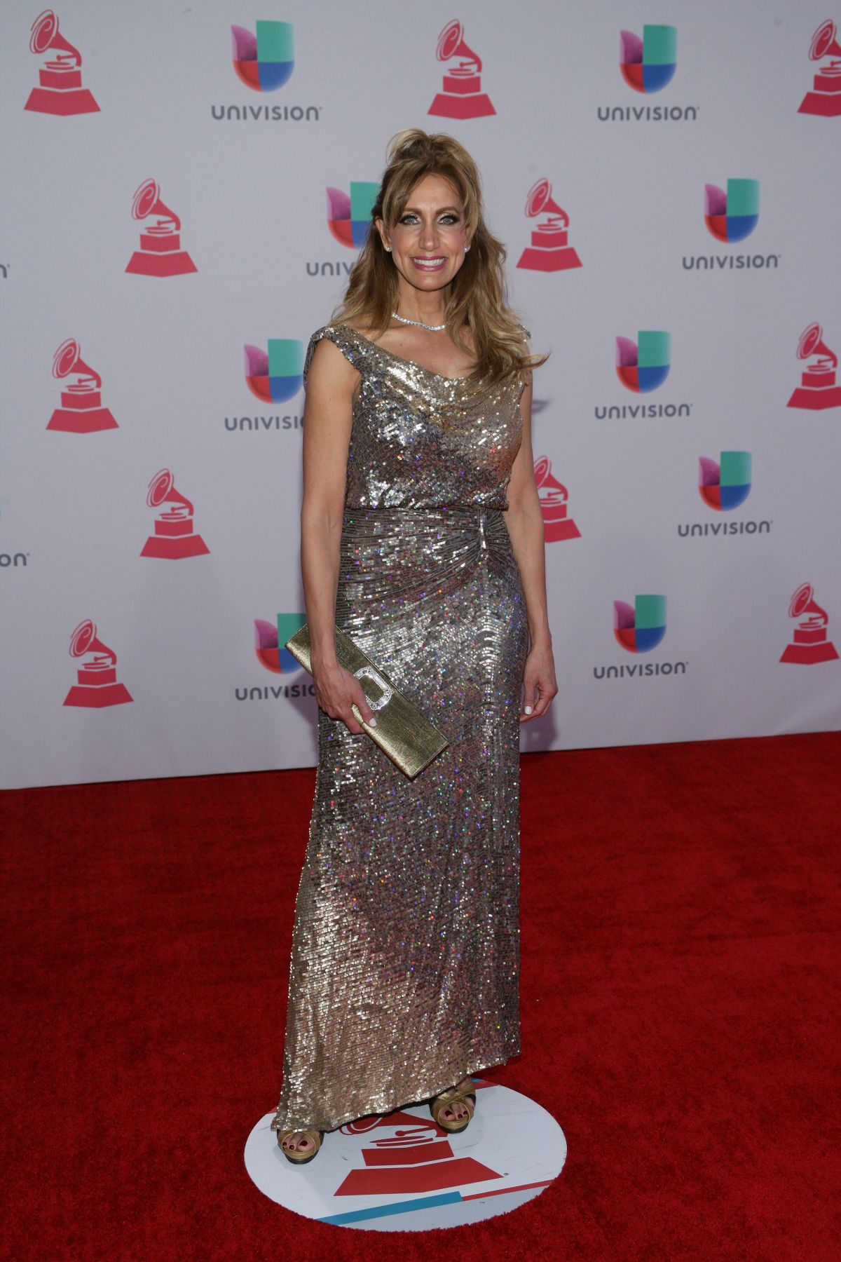 LILI ESTEFAN at 2015 Latin Grammy Awards in Las Vegas 11/18/2015