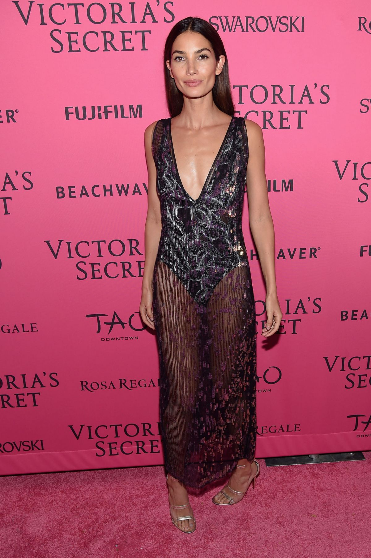 LILY ALDRIDGE at Victoria's Secret 2015 Fashion Show After Party 11/10/2015