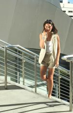 LILY ALDRIDGE on the Set of a Photoshoot in Los Angeles 11/19/2015