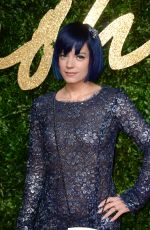 LILY ALLEN at 2015 British Fashion Awards in London 11/23/2015