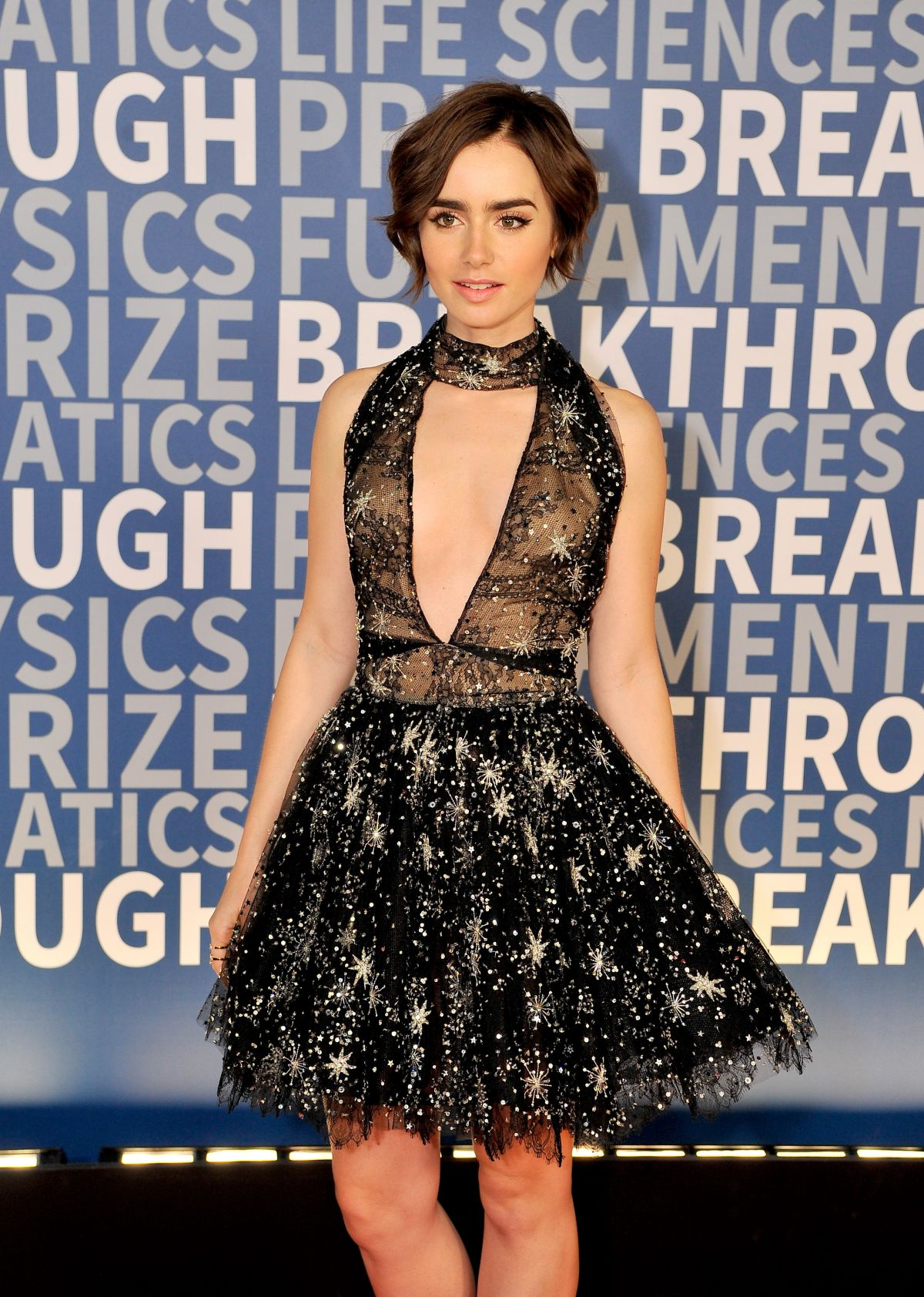 LILY COLLINS at 2016 B...