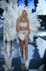 LILY DONALDSON at Victoria's Secret 2015 Fashion Show in New York 11/10/2015