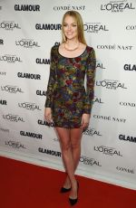 LINDSAY ELLINGSON at Glamour's 25th Anniversary Women of the Year Awards in New York 11/09/2015