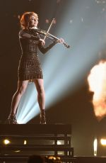 LINDSEY STIRLING at 49th Annual CMA Awards in Nashville 11/04/2015