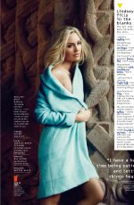 LINDSEY VONN in Health Magazine, December 2015 Issue