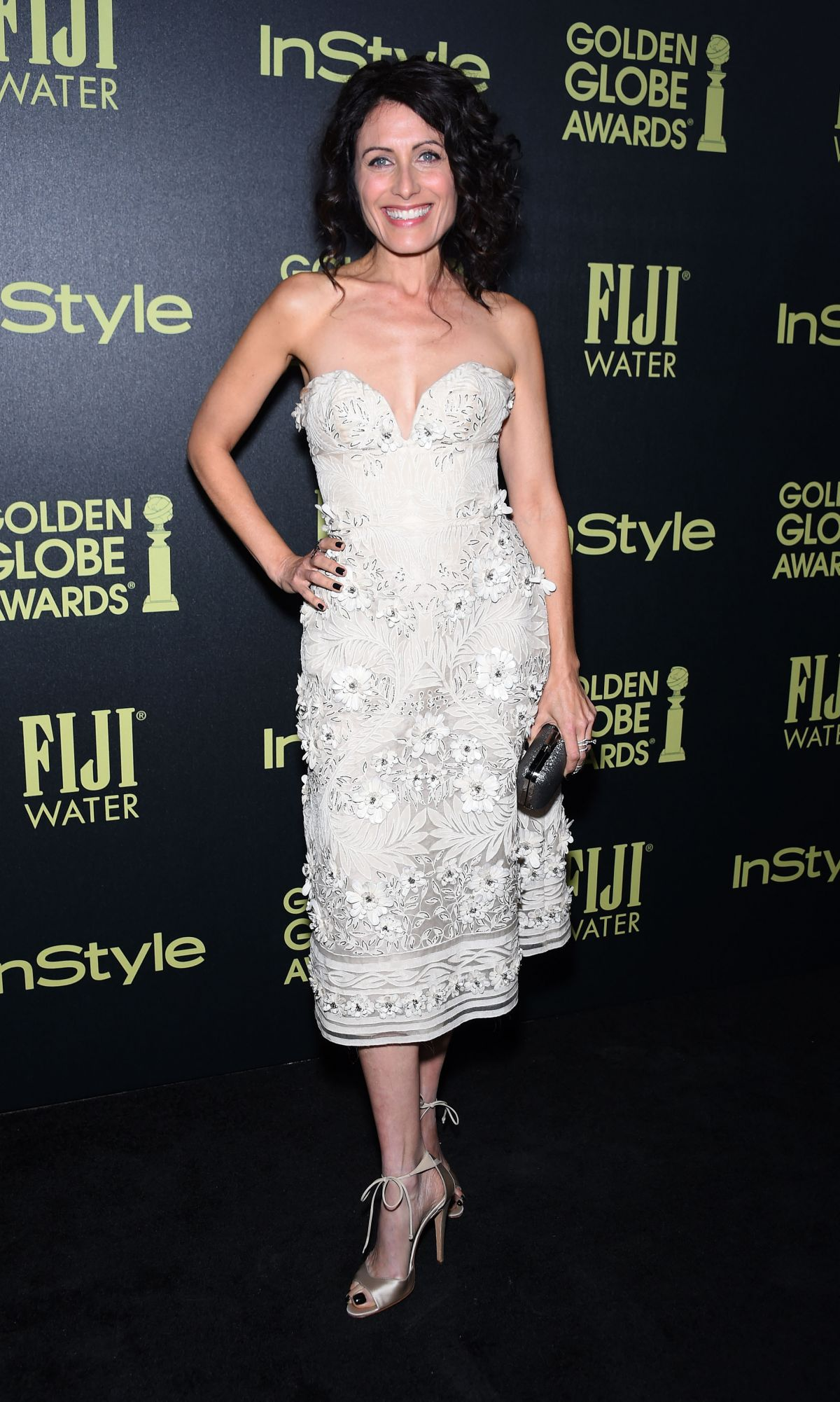 LISA EDELSTEIN at hfpa and Instyle Celebrate 2016 Golden Globe Award Season in West Hollywood 11/17/2015