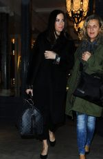 LIV TYLER Leaves a Photoshoot at Belstaff in London 11/24/2015