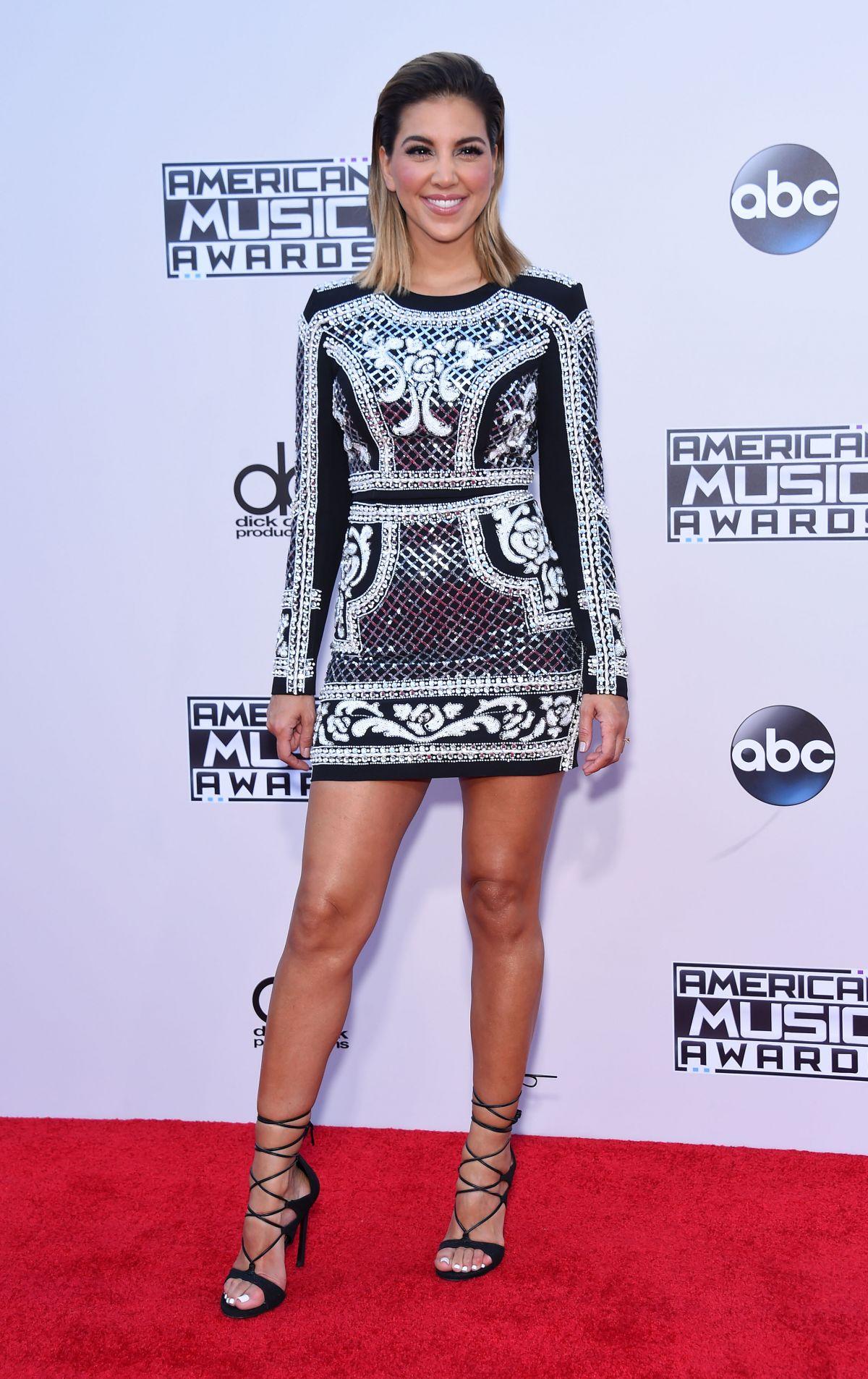 LIZ HERNANDEZ at 2015 American Music Awards in Los Angeles 11/22/2015