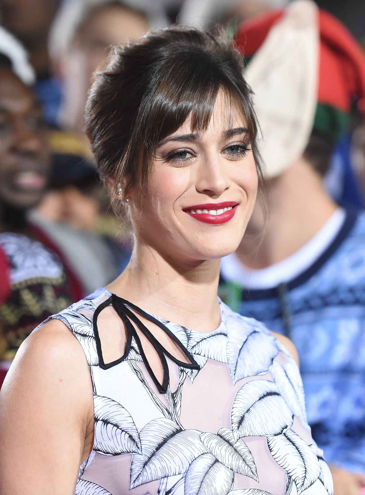 LIZZY CAPLAN at The Night Before Premiere in Los Angeles 11/18/2015