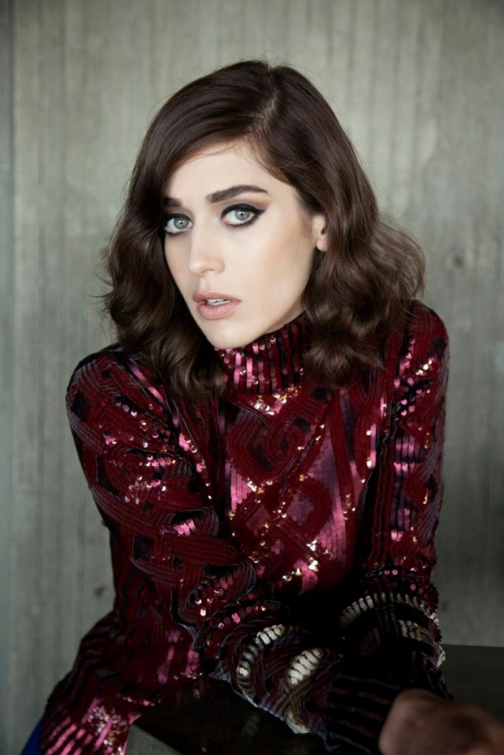LIZZY CAPLAN in The Untitled Magazine, September 2015 Issue