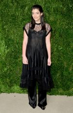 LORDE at 12th Annual CFDA/Vogue Fashion Fund Awards in New York 11/02/2015