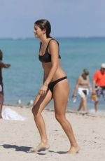 LUCY ARAGON in Bikini at a Beach in Miami 11/14/2015