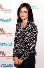 LUCY HALE at Seacrest Studios at Children
