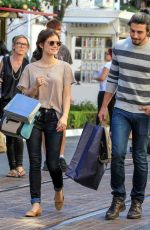 LUCY HALE Out and About in Brentwood 11/21/2015