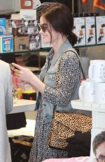 LUCY HALE Out Shopping at Kitson in Beverly Hills 11/14/2015