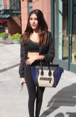 MADISON BEER in Tight Out in Beverly Hills 11/04/2015