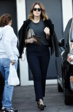 MADY MOORE Oout and About in Beverly Hills 11/05/2015