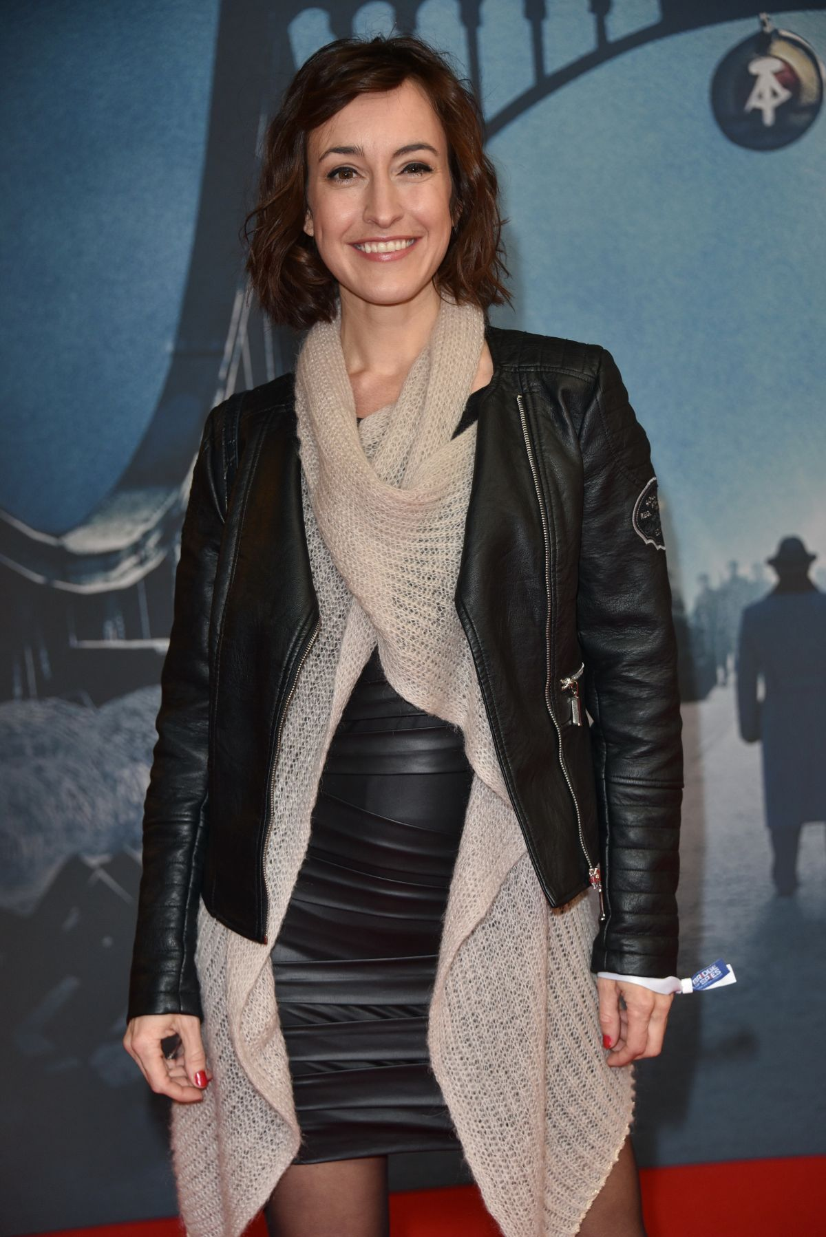 MAIKE VON BREMEN at Bridge of Spies Premiere at Zoo Palast in Berlin 11/13/2015