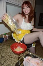 MAITLAND WARD - Thanksgiving Dinner Photoshoot in Los Angeles 11/24/2015