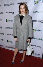 MAJANDRA DELFINO at Consumed Los Angeles Premiere at Laemmle Music Hall in Beverly Hills 11/11/2015