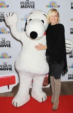 MALIN AKERMAN at The Peanuts Movie and Build-a-bear Workshop Special Screening in New York 11/01/2015