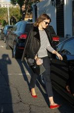 MANDY MOORE Out and About in Los Angeles 11/18/2015