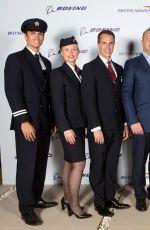 MARGOT ROBBIE at Boing 787-9 Launch in Abu Dhabi 11/06/2015