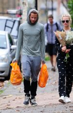 MARGOT ROBBIE Out Shopping in London 11/08/2015