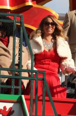 MARIAH CAREY at 89th Annual Macy