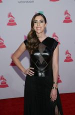 MARIANA VEGA at 2015 Latin Grammy Awards in Las Vegas 11/18/2015
