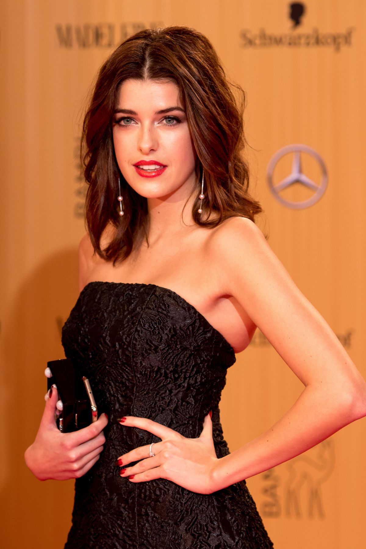 MARIE NASEMANN at 2015 Bambi Awards in Berlin 11/12/2015