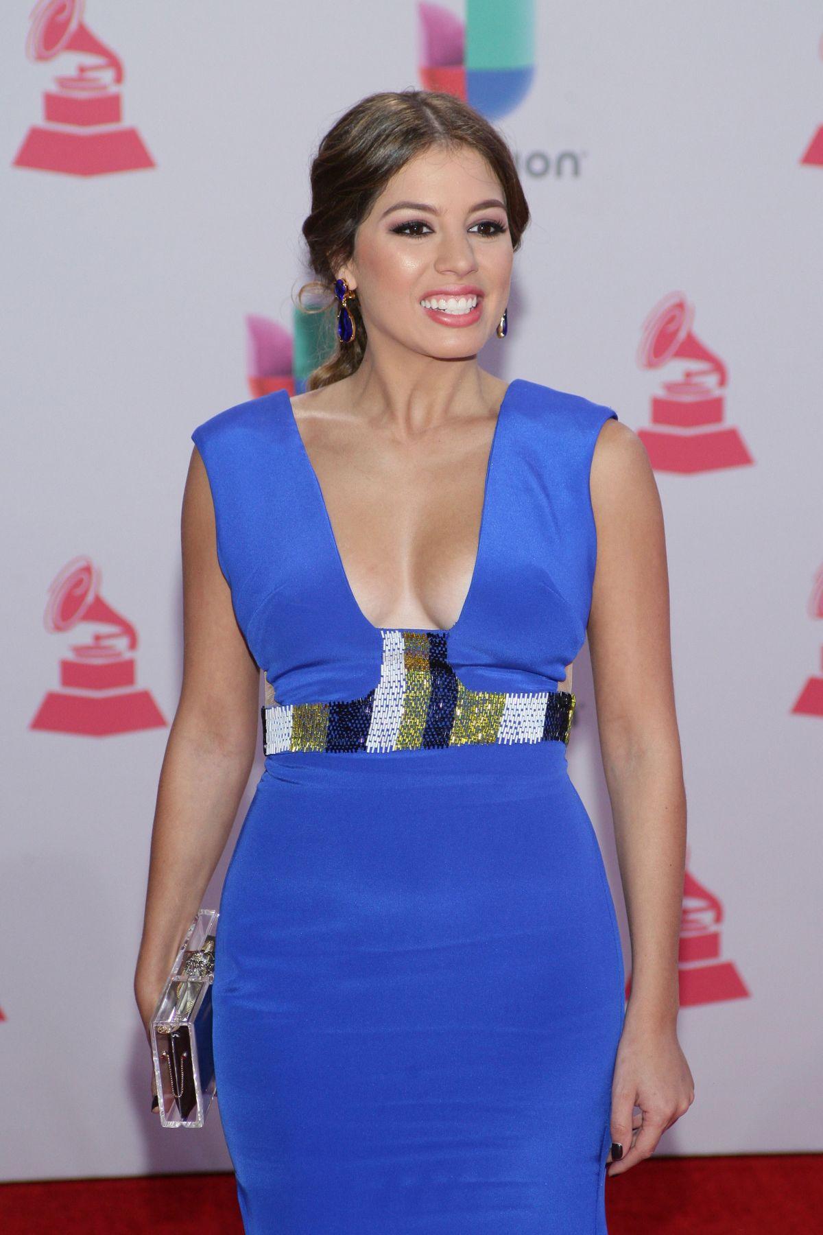 MARIELLE HAZLO at 2015 Latin Grammy Awards in Las Vegas 11/18/2015