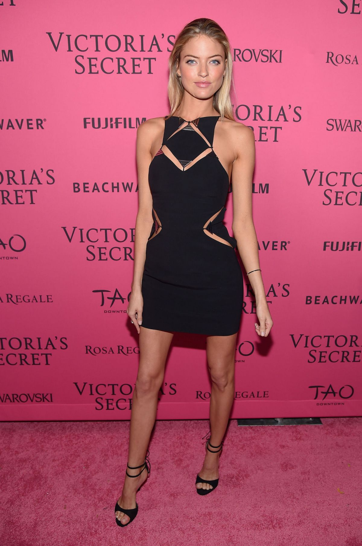 MARTHA HUNT at Victoria's Secret 2015 Fashion Show After Party 11/10/2015