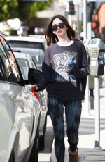 MEGAN FOX Out and About in Los Angeles 11/04/2015
