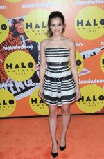 MEGAN NICOLE at 2015 Nickelodeon Halo Awards in New York 11/14/2015