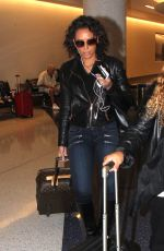 MELANIE BROWN at Los Angeles International Airport 11/05/2015