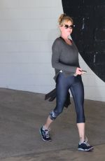 MELANIE GRIFFITH Arrives at a Gym in Beverly Hills 11/18/2015